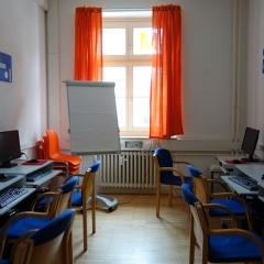 Unser modern ausgestatteter Computerraum